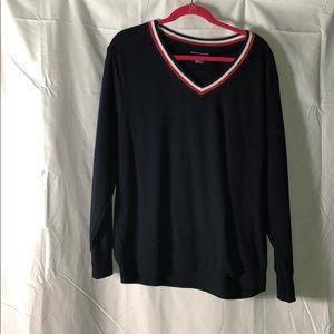 Tommy Hilfiger Navy Blue Sweater - Size 1X